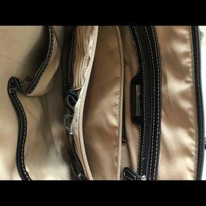 Giani Bernini Bags - Giani Bernini Black Leather Dome Satchel Bag